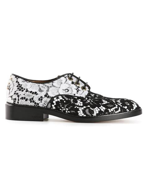 Floral lace derby shoes – Givenchy
