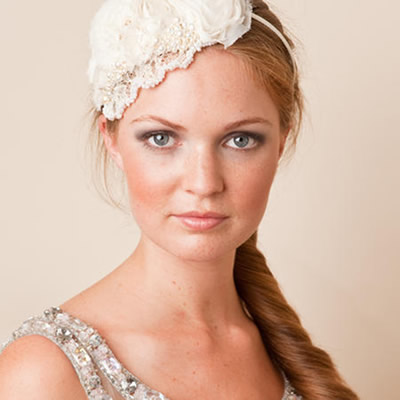 Inspired by old Hollywood glamour this bridal hair accessory was created