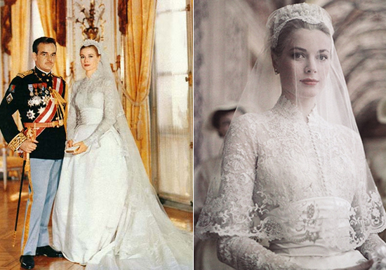 Grace Kelly April 1956 The Wedding