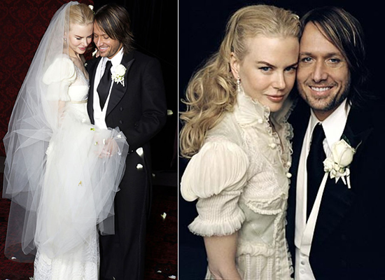 Condé Nast Brides elected Nicole Kidman's gown as the wedding dress of the