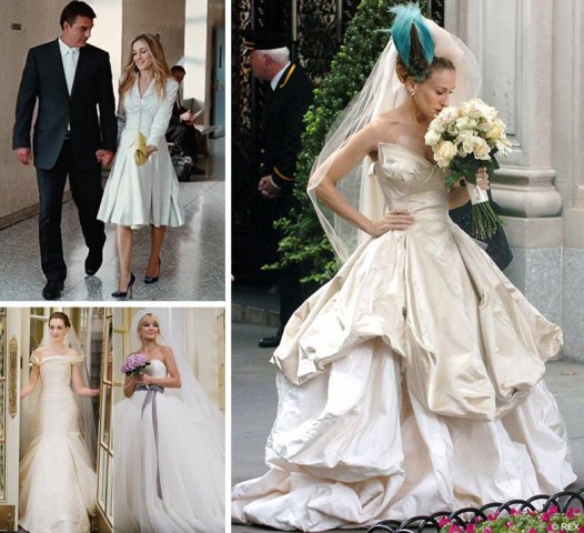 Sarah Jessica Parker Wedding Gown: 8 Famous Bridal Hairstyles From The Movies