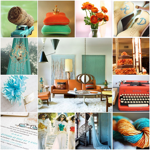 Ideas for selecting your wedding decor colors stylish wedding ideas simple use the color wheel junglespirit Images