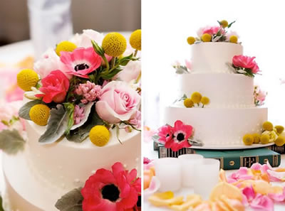 Tall wedding cakes