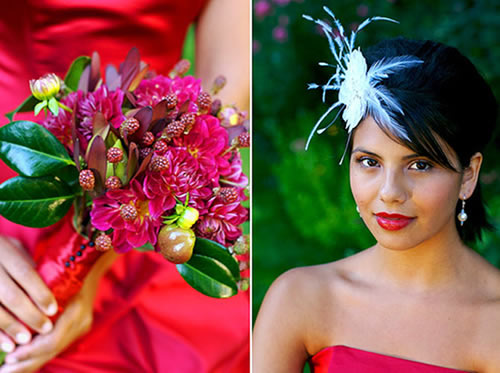 A wedding bouquet that expresses the bride's personality